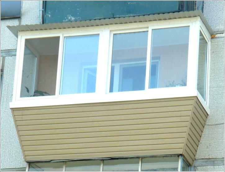 Чем провести внешнюю отделку балкона